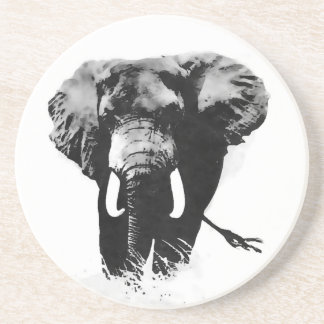 Walking Elephant Drink Coaster