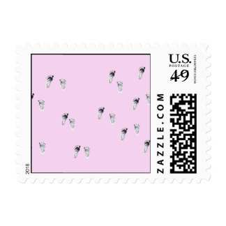 Walking for a cause postage