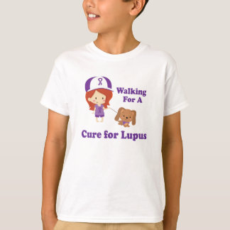 Walking For A Cure For Lupus T-Shirt