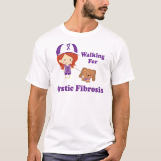 Walking For Cystic Fibrosis T-Shirt