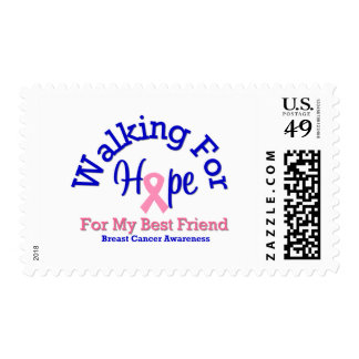 Walking For Hope For My Best Friend Stamp