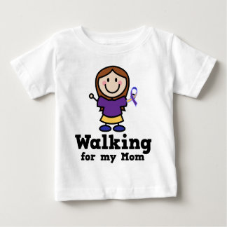 Walking For My Mom Bladder Cancer Baby T-Shirt