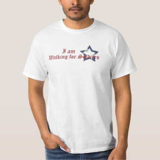 Walking for Soldiers Shirt
