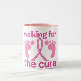 Walking For The Cure Coffee Mug
