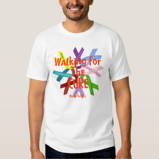 Walking For The CURE Tshirts