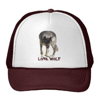 "Walking Grey Wolf ""Lone Wolf"" Hat"
