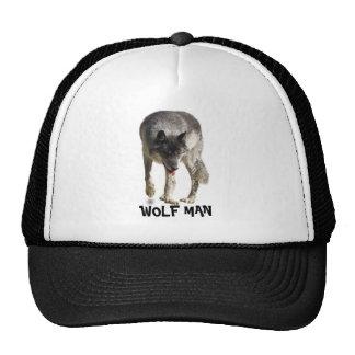 "Walking Grey Wolf ""Wolf Man"" Hat"