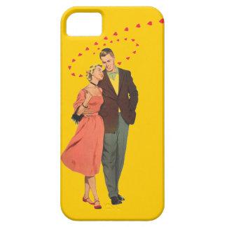 Walking Home - 50's Vintage Illustration iPhone SE/5/5s Case