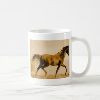 Walking Horse Pop Art Classic White Coffee Mug