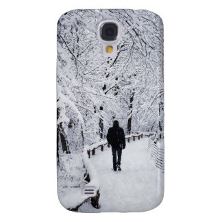 Walking In A Winter Wonderland Samsung Galaxy S4 Cover
