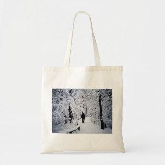 Walking In A Winter Wonderland Tote Bag