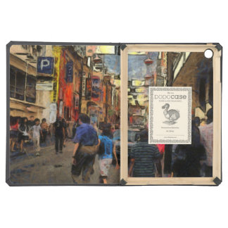 Walking in Melbourne iPad Air Cases