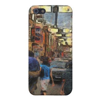 Walking in Melbourne iPhone SE/5/5s Cover
