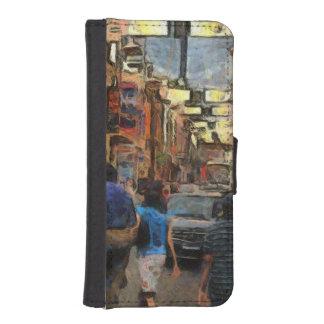 Walking in Melbourne iPhone SE/5/5s Wallet Case