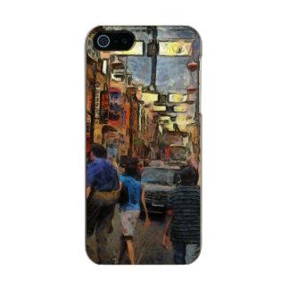 Walking in Melbourne Metallic iPhone SE/5/5s Case