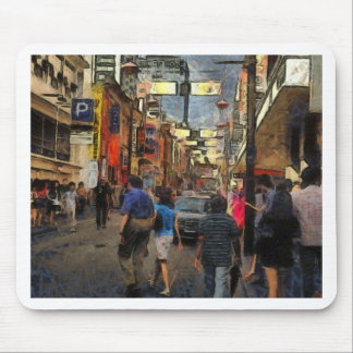 Walking in Melbourne Mouse Pad
