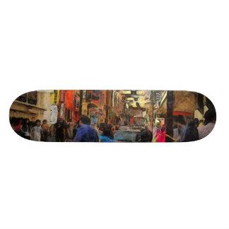 Walking in Melbourne Skateboard