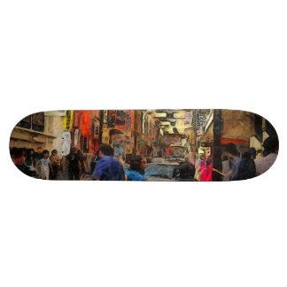 Walking in Melbourne Skateboard Deck