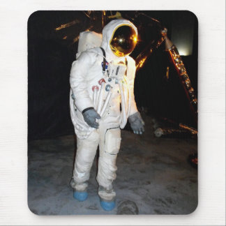 Walking in space mouse pad