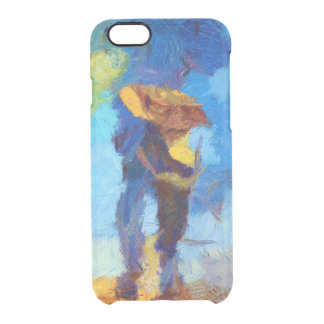 Walking in the Rain iPhone 6/6S Clear Case