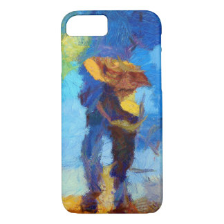 Walking in the Rain iPhone X/8/7 Barely There Case