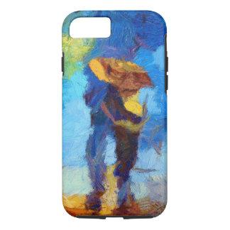 Walking in the Rain iPhone X/8/7 Tough Case