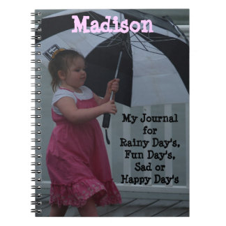 Walking in the Rain Notebook Journal