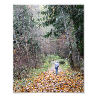 Walking in the Woods Photo Art