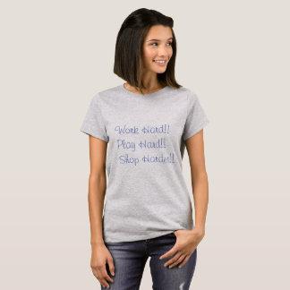 Walking inspiration for a true shopaholic T-Shirt