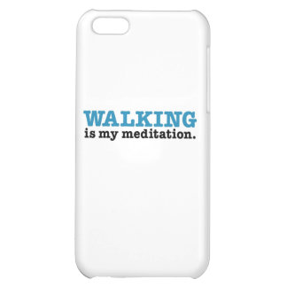 Walking Is Meditation (blue edition) Cover For iPhone 5C