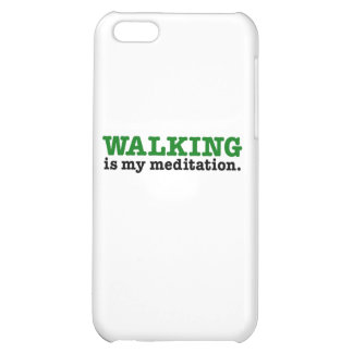 Walking Is Meditation (green edition) Case For iPhone 5C