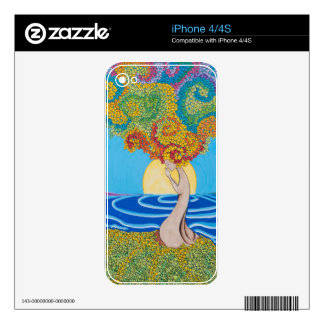 Walking Meditation Decal For The iPhone 4S