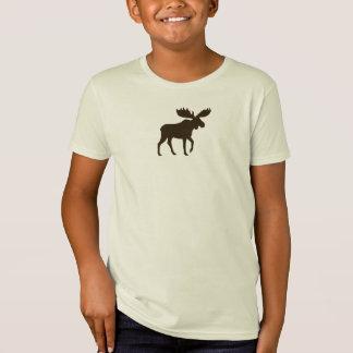 Walking Moose Silhouette T-Shirt