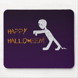 Walking Mummy Mousepad in Dark Purple