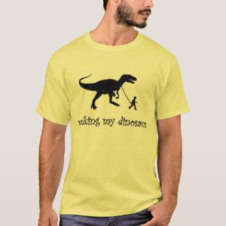 Walking my Dinosaur T-Shirt