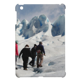 Walking on Perito Moreno Glacier, Argentina Cover For The iPad Mini