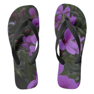 Walking on Petals Flip Flops