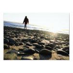 Walking on Stones 5x7 Paper Invitation Card