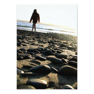 Walking on Stones Card