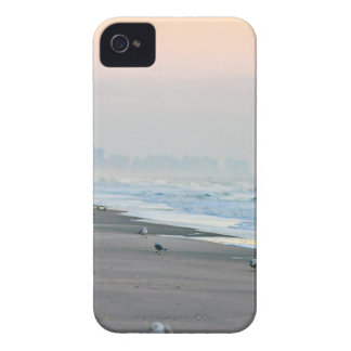 Walking on the Beach at Sunset iPhone 4 Covers