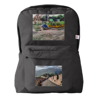Walking on the Great Wall of China Backpack