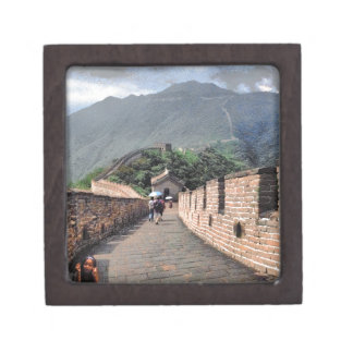 Walking on the Great Wall of China Gift Box