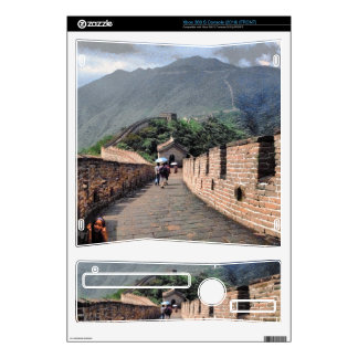 Walking on the Great Wall of China Skin For Xbox 360 S