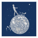 Walking on the Moon Posters