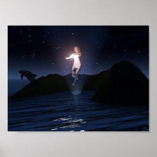 Walking on Water, Version 2 Poster
