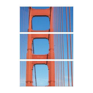 Walking Over the Golden Gate Bridge Canvas Print