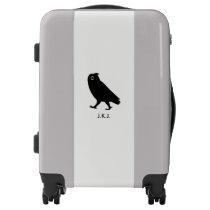 Walking Owl - Custom Text Luggage