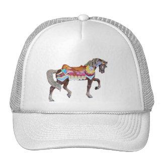 Walking Painted Carousel Pony Trucker Hat