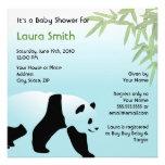 Walking Panda Baby Shower Invitation - Square