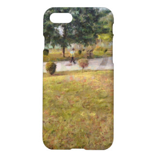 Walking path and greenery iPhone 8/7 case